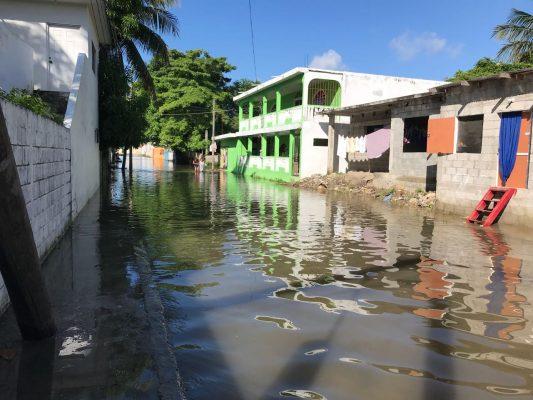 Siguen bajo el agua algunos sectores de la zona