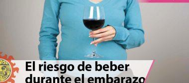 El riesgo de beber durante el embarazo