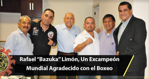 """Rafael """"Bazuka"""" Limón, Un Excampeón Mundial Agradecido con el Boxeo"""