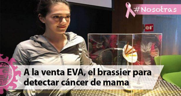A la venta EVA, el brassier para detectar cáncer de mama