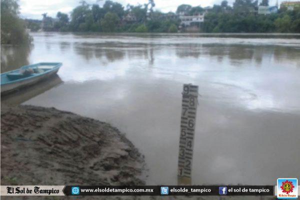 Probable desbordamiento de los ríos Calabozo, Moctezuma y Pánuco tras las recientes lluvias