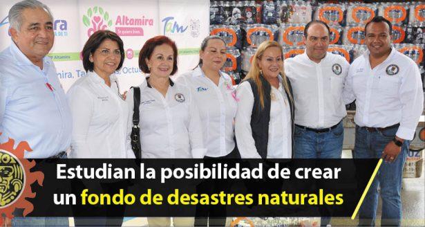 Estudian la posibilidad de crear un fondo de desastres naturales