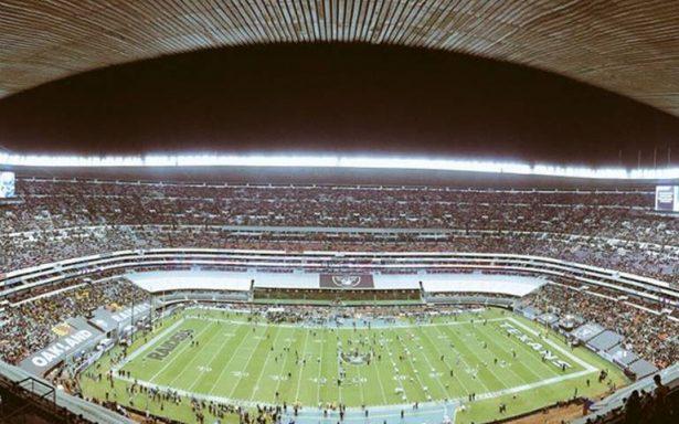 Partido de Raiders vs Patriots sí se jugará en el Estadio Azteca