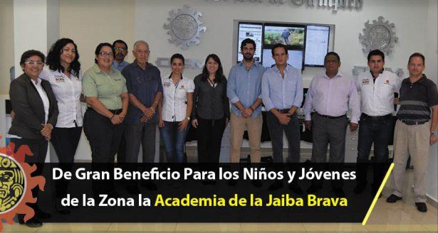 De Gran Beneficio Para los Niños y Jóvenes de la Zona la Academia de la Jaiba Brava