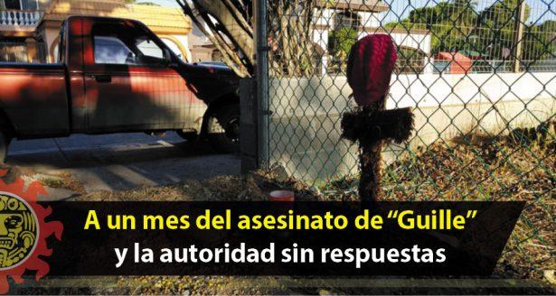 """A un mes del asesinato de """"Guille"""" y la autoridad sin respuestas"""