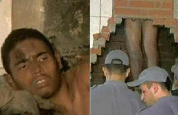 ¡De película! Ladrón se mete a chimenea para asaltar una casa; se queda atorado tres días