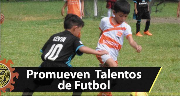 Promueven talentos de futbol