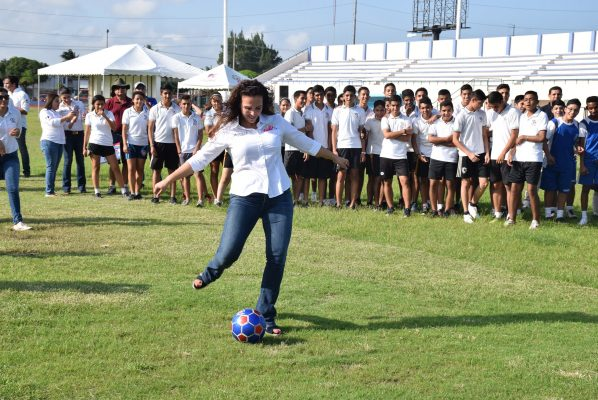 """En marcha en Ciudad Madero el Torneo de Futbol 2017 """"DIF te quiere bien"""""""