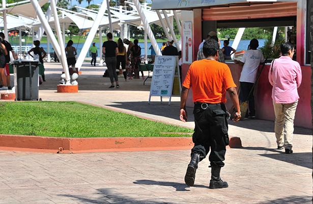 Parque Metropolitano cuenta con vigilancia permanente