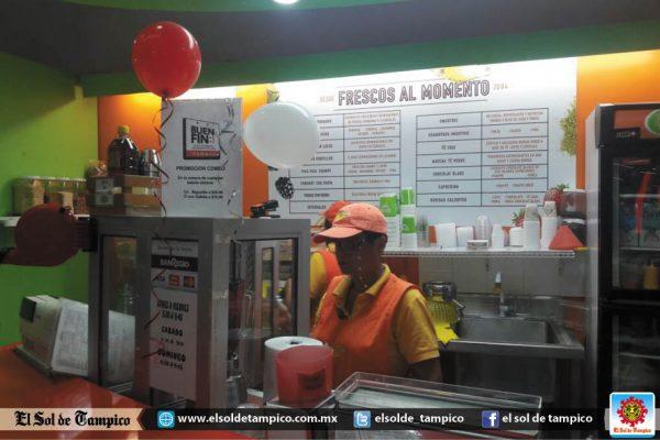 El aeropuerto de Tampico también se contagió de El Buen Fin