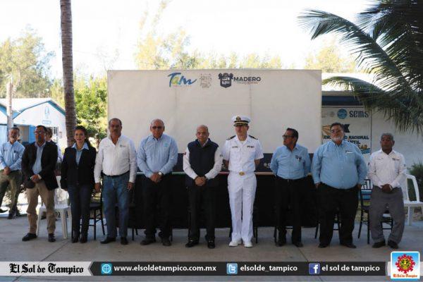 Reconoce Ayuntamiento de Madero la labor de la Armada de México