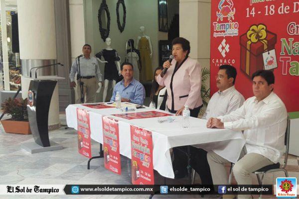 Participarán más de 400 negocios en la Gran Venta Navideña Tampico 2017