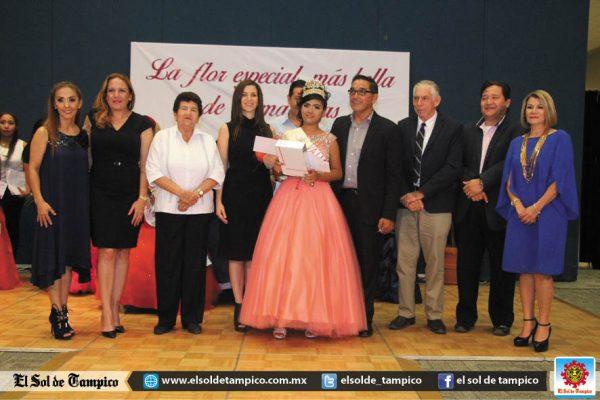 """Asiste Magdalena Peraza a """"La Flor Especial más Bella de Tamaulipas"""""""