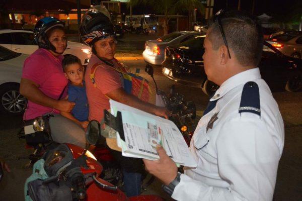 """Ponen en marcha en Madero operativo vial """"en lo oscurito"""""""