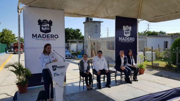 Reinauguran el Tamul de la colonia Revolución Verde en Madero