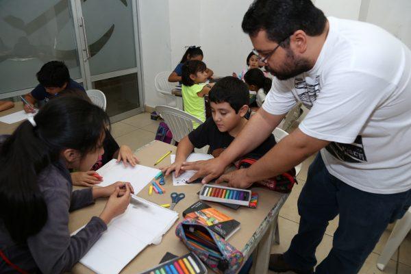 Lazos artísticos entre la niñez reconstruyen el tejido social