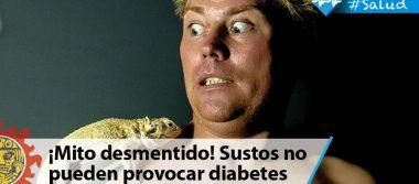 ¡Mito desmentido! Sustos no pueden provocar diabetes