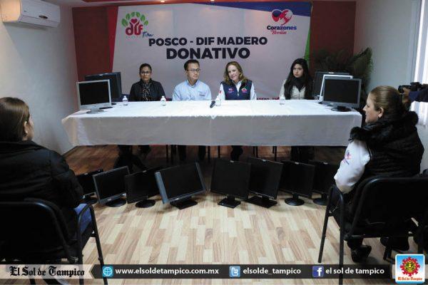 DIF Madero fortalecerá programas de atención con apoyo de Posco México