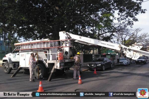 Sin luz amplio sector del centro porteño por obras de CFE