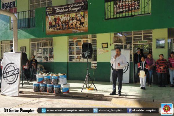 Hechos en Madero apoya escuela primaria