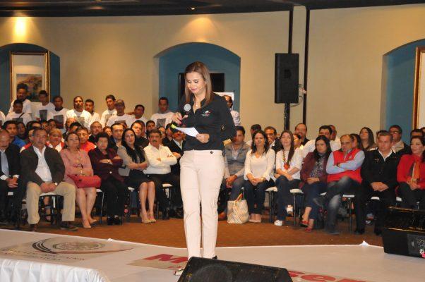 Informe de la Diputada Montserrat Arcos enfatiza su impulso a acciones benéficas