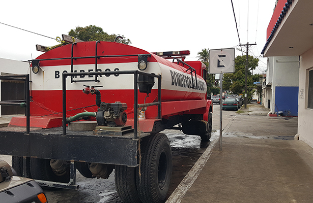 Sin funcionar parque vehicular de bomberos