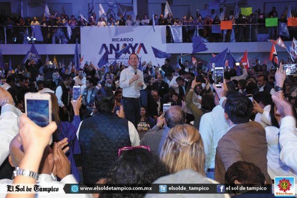Ricardo Anaya se registra como precandidato de MC