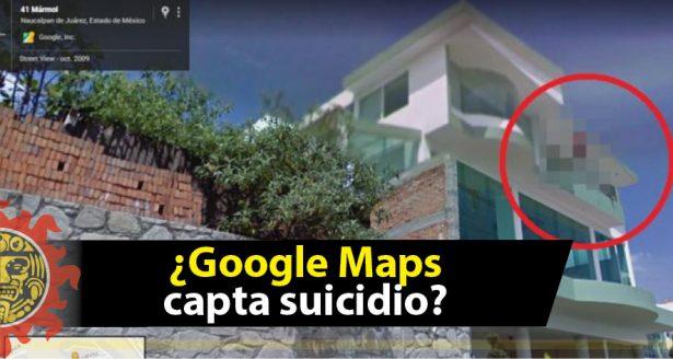 ¿Google Street View capta un suicidio?