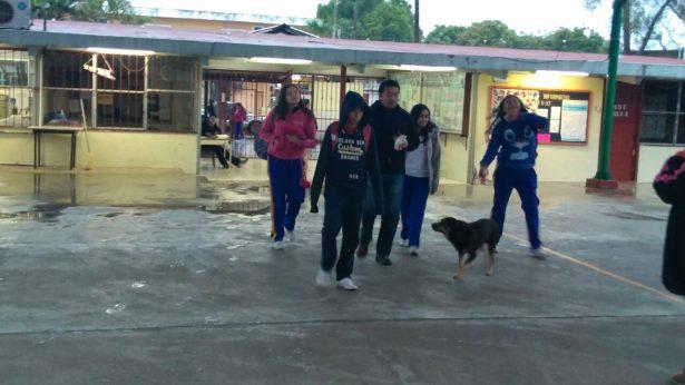 Sólo 60 estudiantes acudieron a una secundaria de Altamira