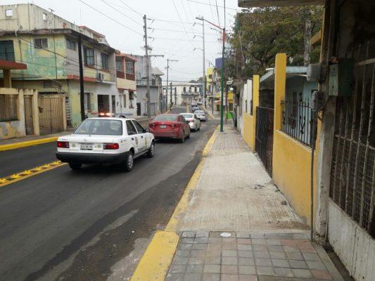 Circulación parcial en la calle José de Escandón