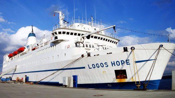 """Vendrá a Tampico el buque """"Logos Hope"""", la librería flotante más grande del mundo"""