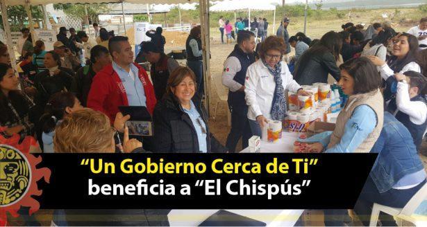 """Benefician a El Chispús con jornada """"Un Gobierno Cerca de ti"""""""
