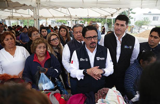 """Un éxito la jornada """"Un Gobierno Cerca de Ti"""" en el """"Chispús"""" Madero"""