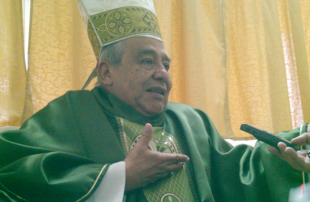 Que no pasen drogas a EU y ellos mismos  van a tirar el muro: Obispo de Irapuato