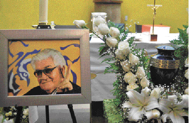 Sentido adiós a Carlos Miloc
