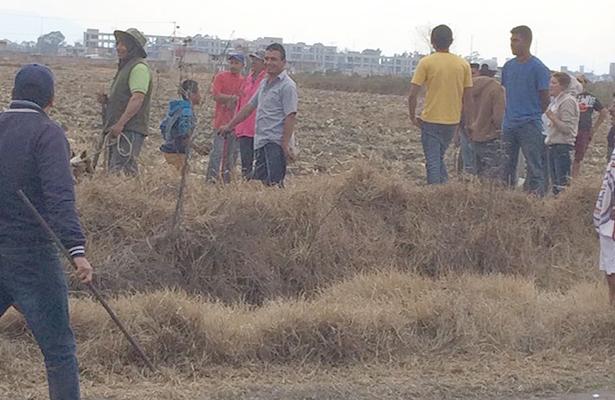 Se levantan comuneros de San José El Llanito