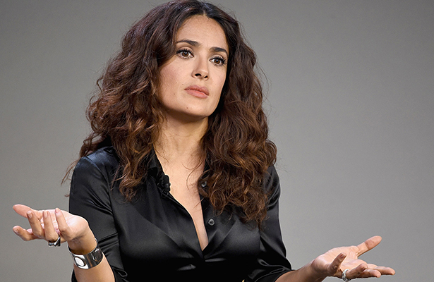 ¡Salma Hayek confiesa qué es lo que le enfurece de los Oscar!