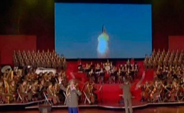 Corea del Norte ataca con misiles a EU… pero en video