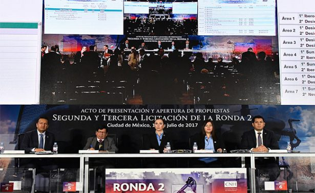 Ronda 2 traerá inversiones a México por 2 mil millones de dólares al ganar 21 bloques