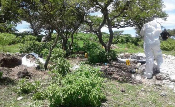 Hallan cinco cuerpos más en fosa clandestina en Zacatecas; suman 19