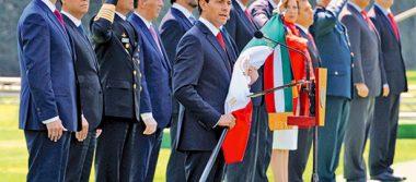 Observan con interés como México enfrenta retos: Peña Nieto