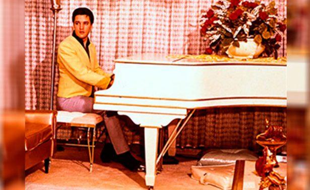 A 40 años de su muerte, subastarán en línea piano preferido de Elvis Presley