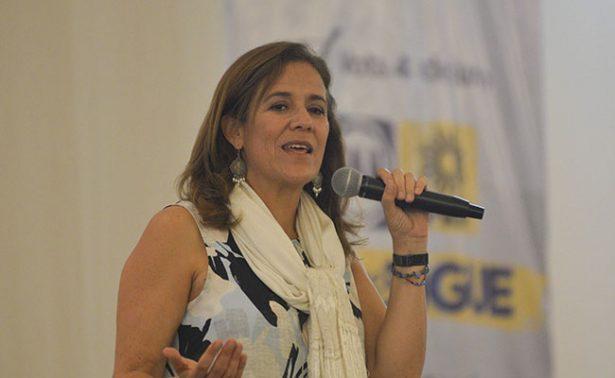 Inoportuno hablar  de un frente opositor: Margarita Zavala