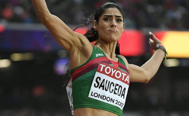 Jessamyn Sauceda queda eliminada en salto largo