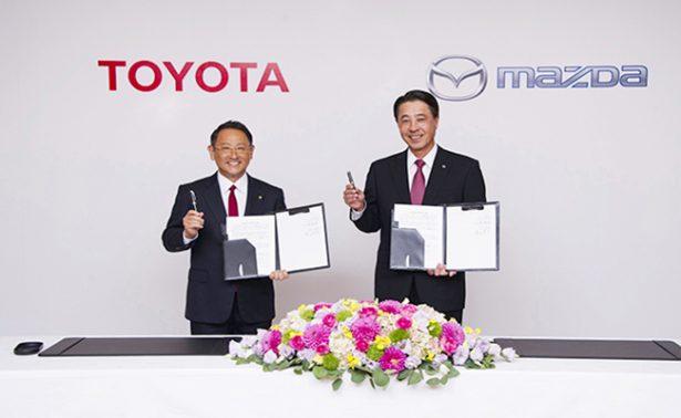 Toyota y Mazda, intercambio de modelos