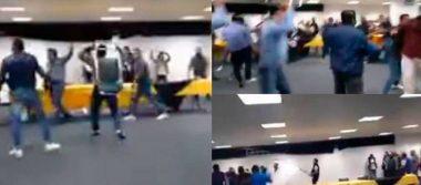 [Video] Perredistas se pelean en pleno Consejo Nacional por candidaturas al Congreso