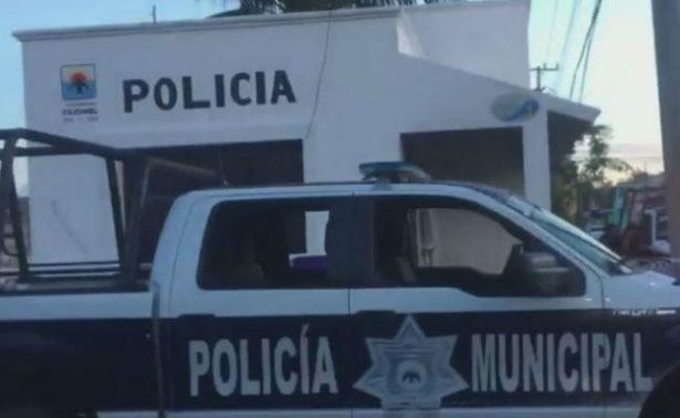 Agreden a tres instalaciones de la policía en Cozumel