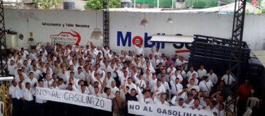 Taxistas marchan contra el gasolinazo en Tapachula
