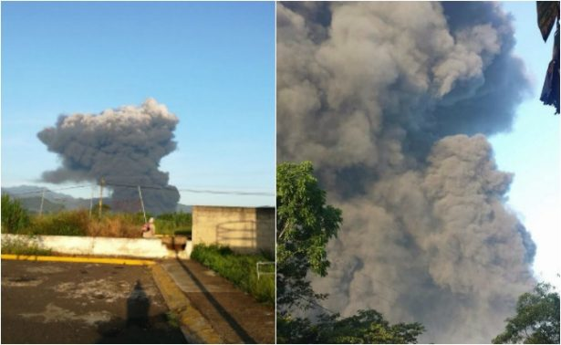 Pemex atiende incendio en toma clandestina en Zapoapan