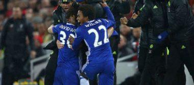 Chelsea venció 3-1 al Swansea en la Liga Inglesa